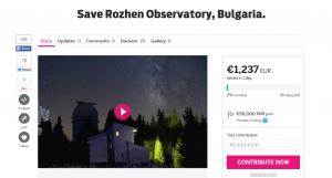 Save Rozhen Observatory